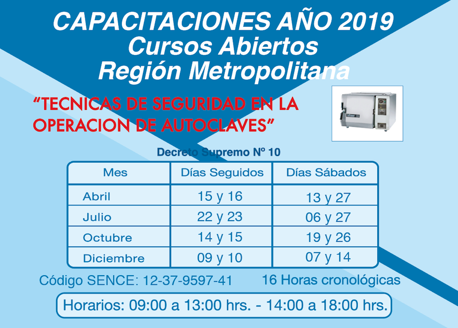 AUTOCLAVES 2019