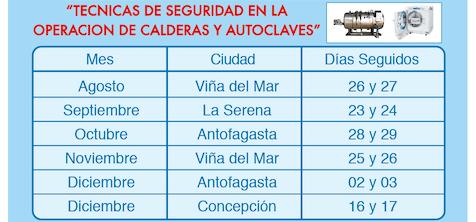 CALDERAS Y AUTOCLAVES 2019